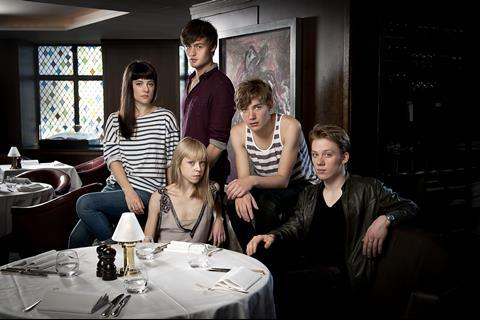 Phoebe Fox, Antonia Campbell Hughes, Douglas Booth, Toby Regbo and Joe Cole